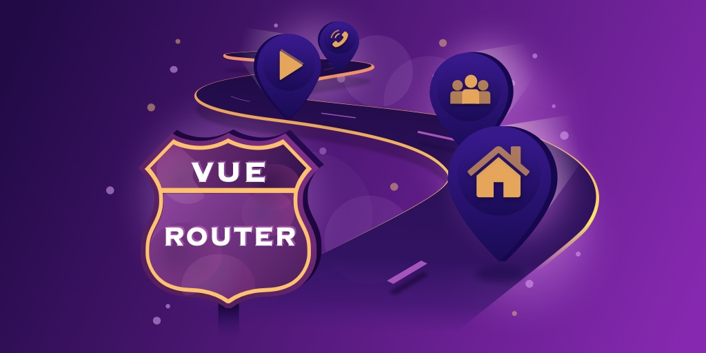 Illustration image of our Vue.js course named Vue Router for Everyone