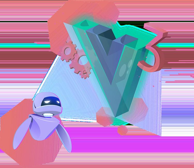 Illustration image of Vue.js 3 Fundamentals