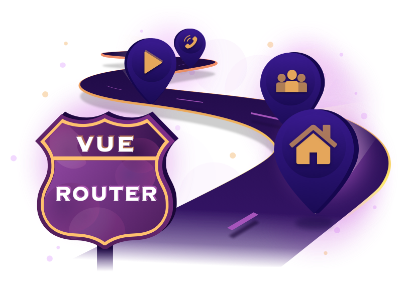 Illustration image of Vue Router for Everyone
